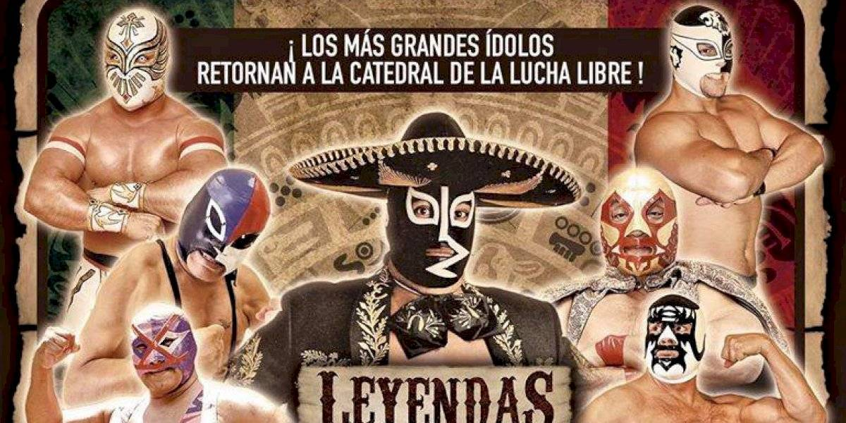 Rayo de Jalisco Jr encabeza función de leyendas en la Arena México