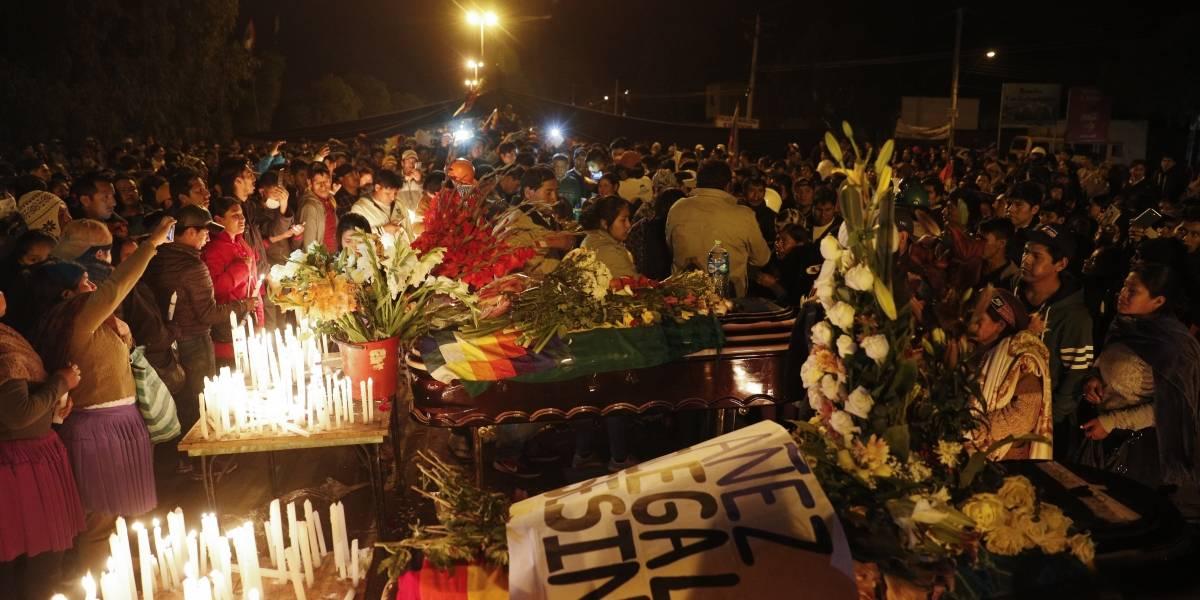 Sangre en las calles de Bolivia: al menos ocho muertos luego que fuerzas de seguridad abrieran fuego contra seguidores de Evo Morales