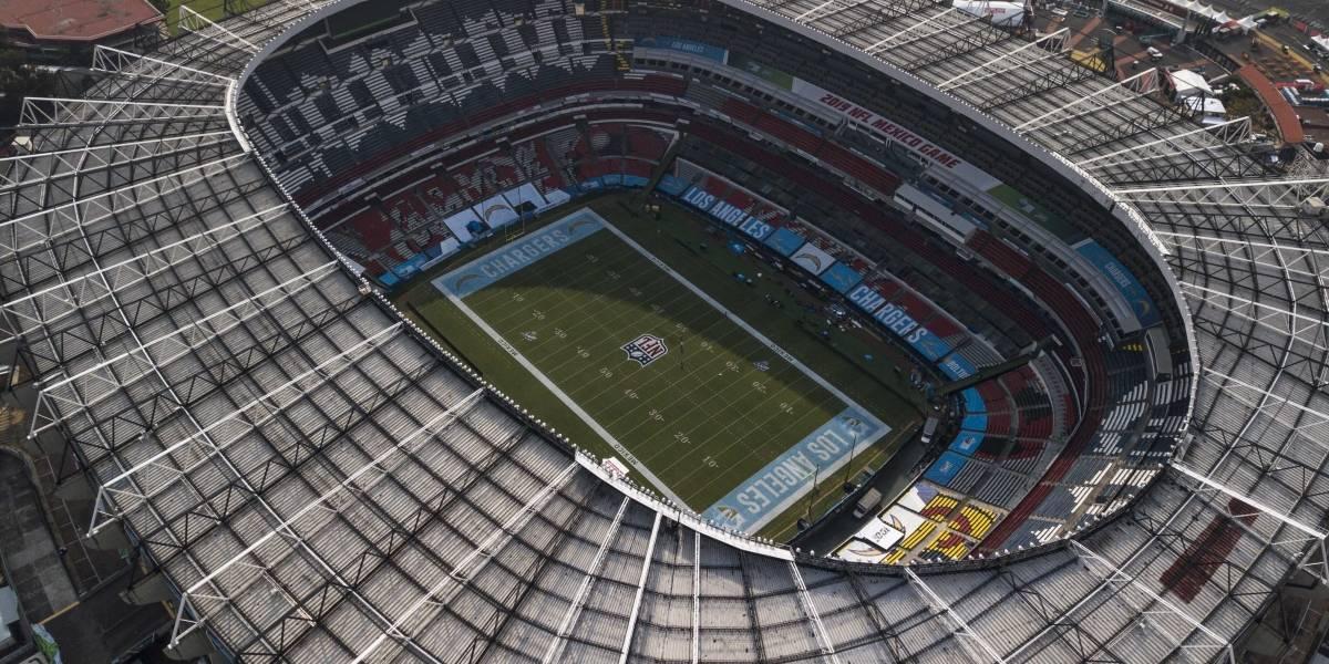 ¿Cómo luce el Estadio Azteca para el partido entre Chiefs vs. Chargers?