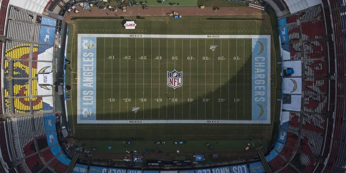 Vigilarán tres mil 300 policías juego de la NFL en el Estadio Azteca
