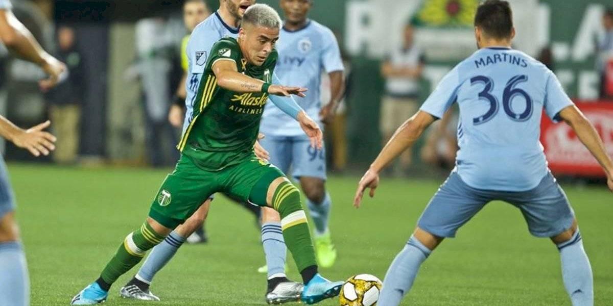 El ex Unión La Calera Brian Fernández tuvo una polémica salida de su club en la MLS