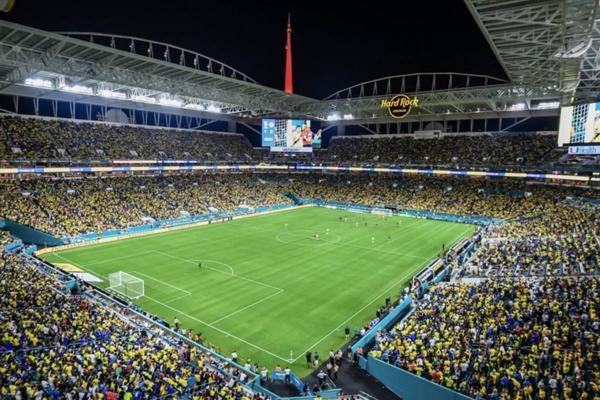 Quejas por la producción de televisión del amistoso Colombia VS ...