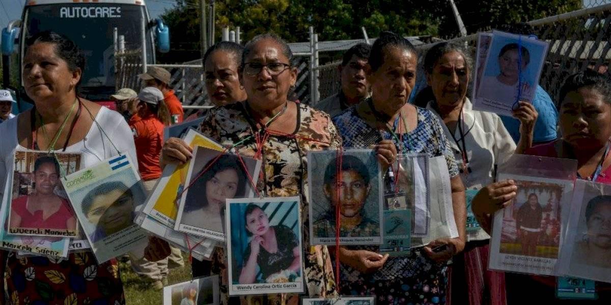 Caravana de Madres de Migrantes Desaparecidos visitan cárcel en Chiapas