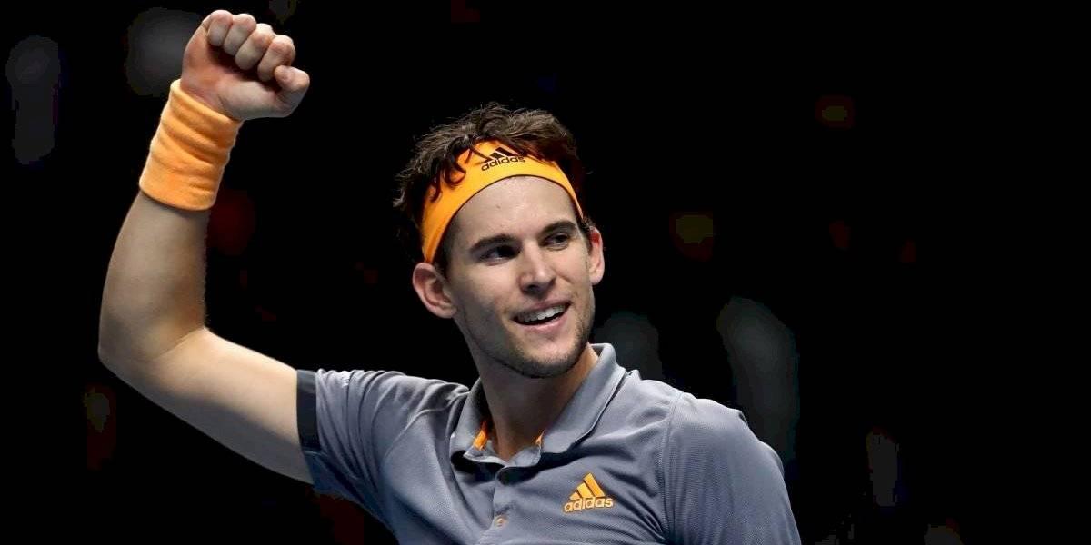 Con Massú en las gradas, Thiem venció a Zverev y va por el título de las Finales del ATP