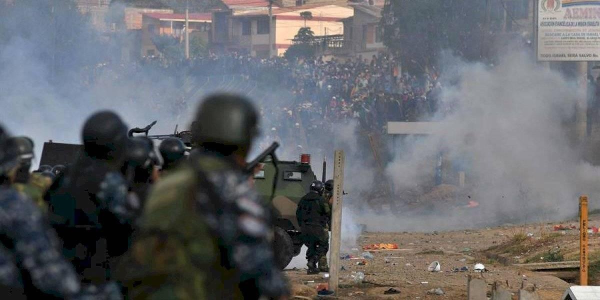 Enfrentamiento entre Fuerzas Armadas de Bolivia y manifestantes deja 5 muertos