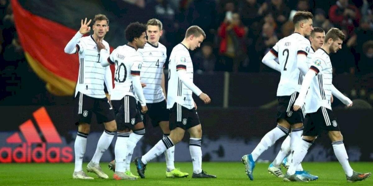 Alemania y Croacia demostraron todo su poderío y clasificaron a la Eurocopa 2020