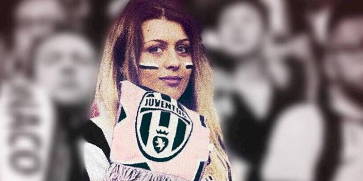 FOTOS: La aficionada de la Juventus que robó miradas en el duelo ante el Milan
