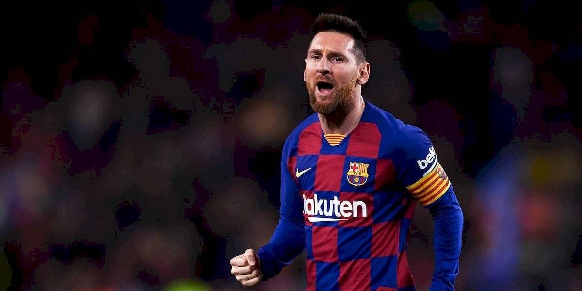Messi está negociando nuevo contrato con el Barcelona