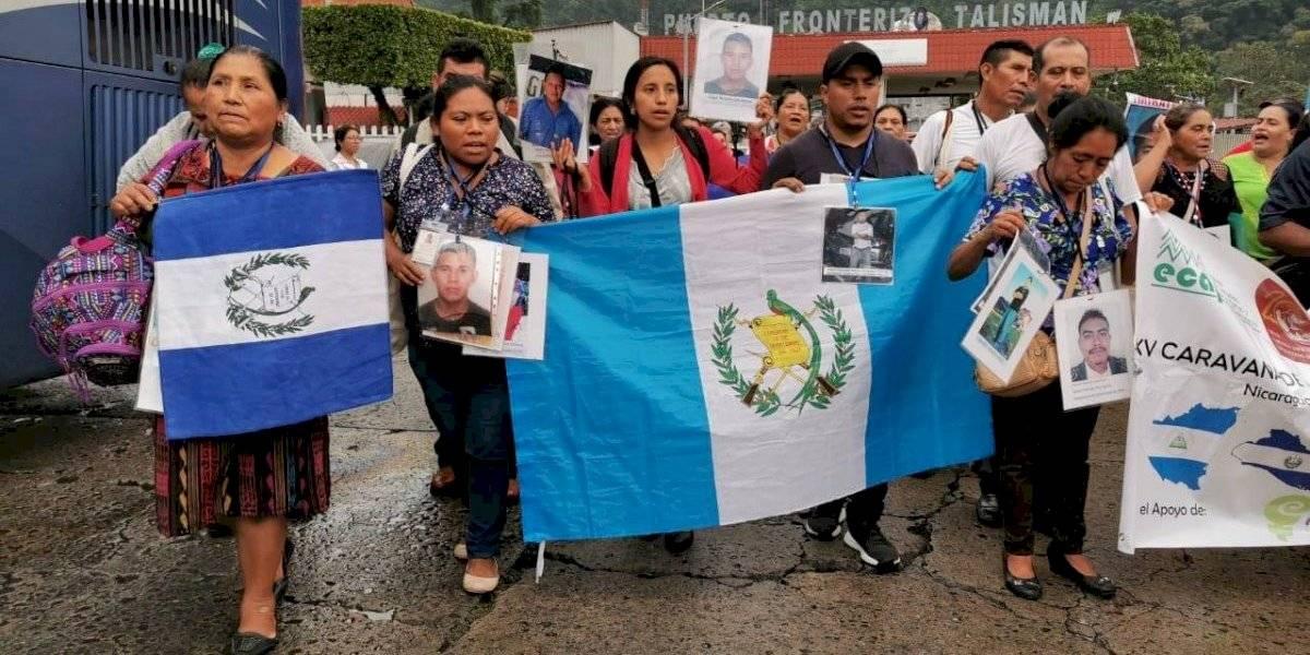 Caravana de madres de migrantes desaparecidos parte desde el sur de México