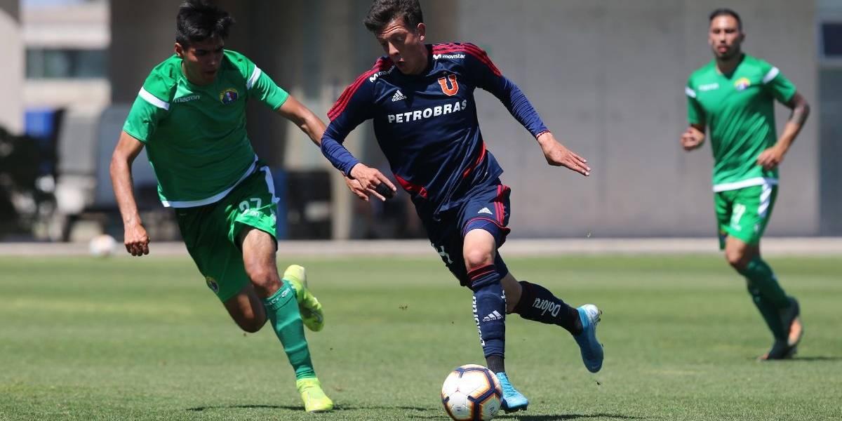 La U venció a Audax Italiano en partido preparatorio antes del regreso del Campeonato Nacional