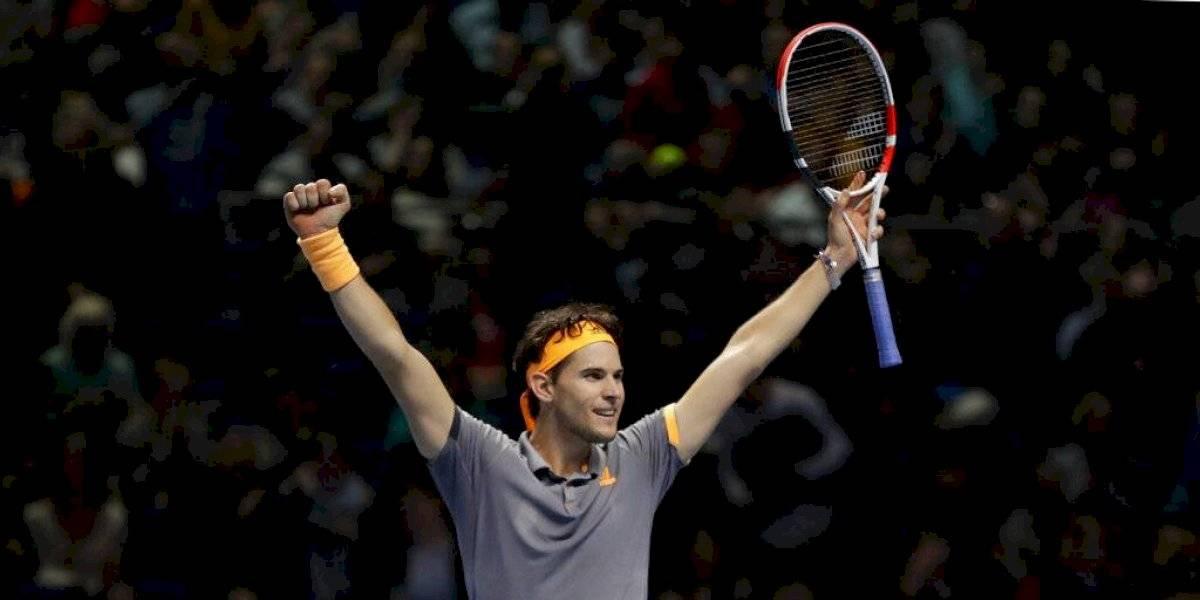 Dominic Thiem jugará por el título de las Finales ATP