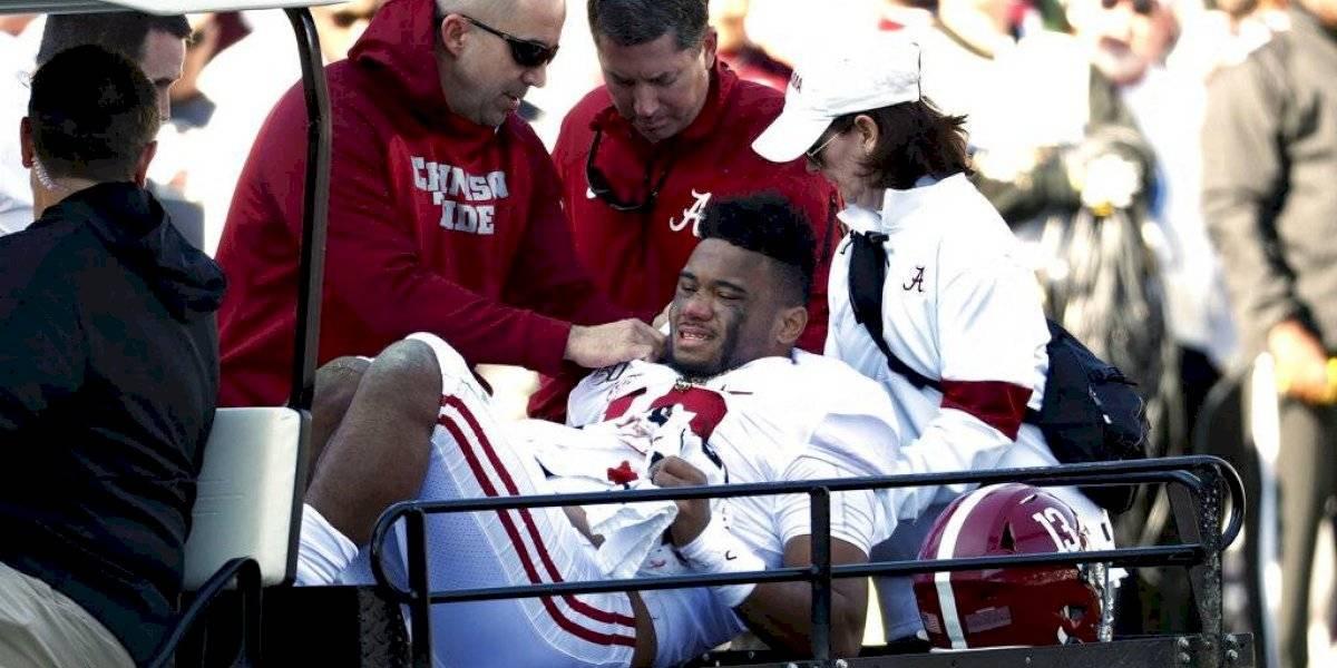 Prospecto de la NFL se fractura la cadera