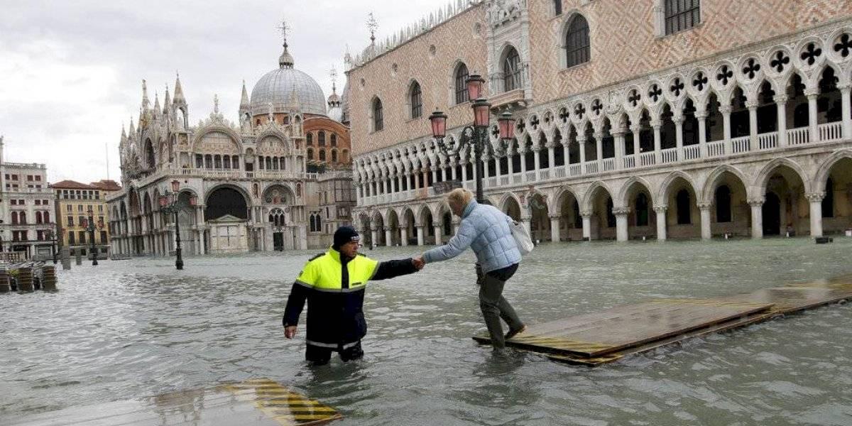 Prevén otro aumento importante de la marea en Venecia