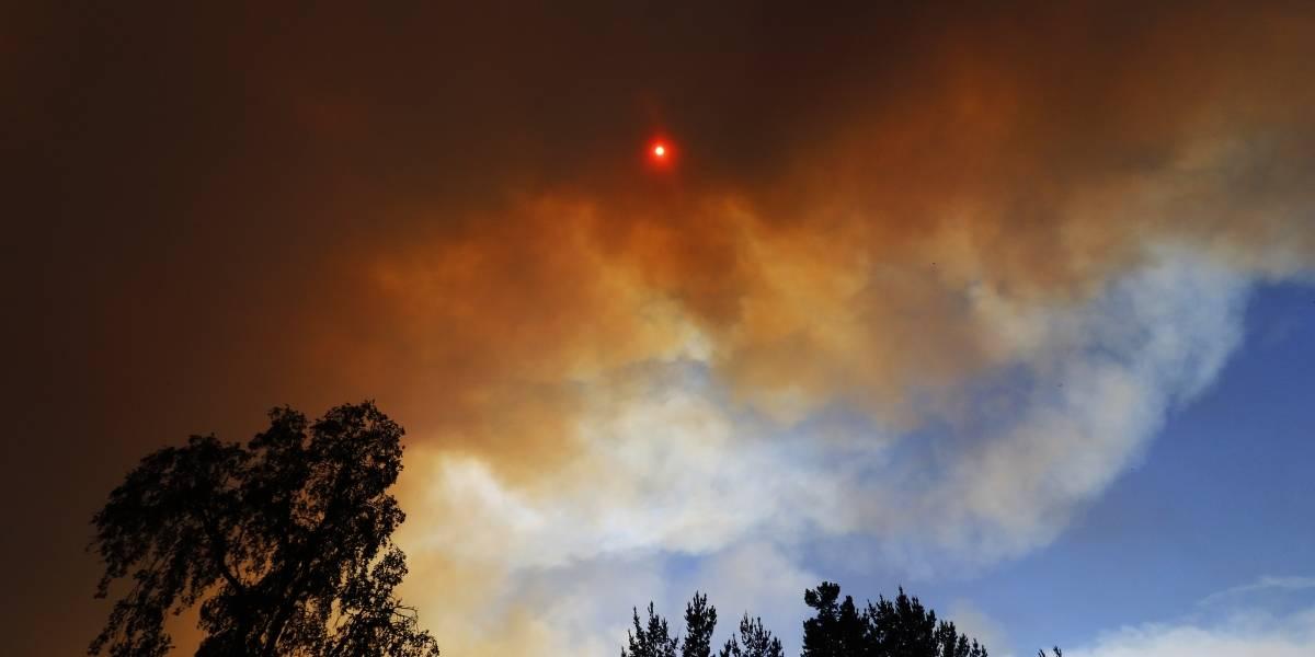 Se mantiene alerta roja para la región de Valparaíso: cuatro incendios forestales aún se mantienen activos