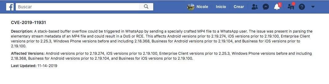 La falla de WhatsApp que te permitirá espiar conversaciones enviando solo un video