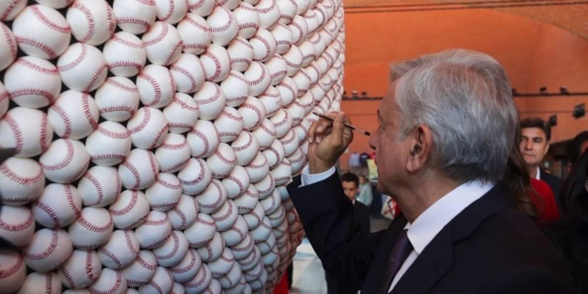 AMLO felicita a selección de beisbol por pase a Juegos Olímpicos