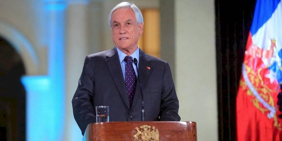 Piñera anuncia que no habrá impunidad en violaciones a DDHH y se abre a aumentar más del 20% en pensiones