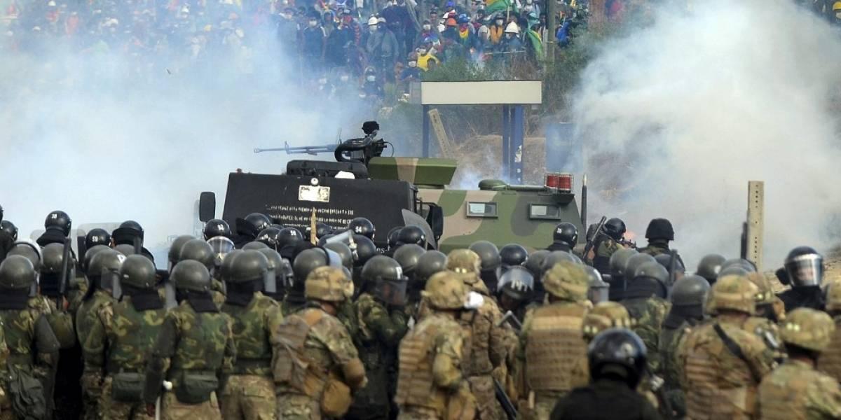 Cuatro muertos más en protestas en Bolivia, que suman al menos 23, según la CIDH