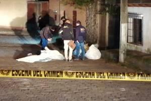 La primera reacción de los vecinos fue marcar el 110 de la Policía Nacional Civil, para que verificaran la posible escena del crimen.