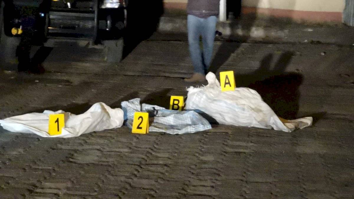 La primera reacción de los vecinos fue marcar el 110 de la Policía Nacional Civil, para que verificaran la posible escena del crimen. Cortesía