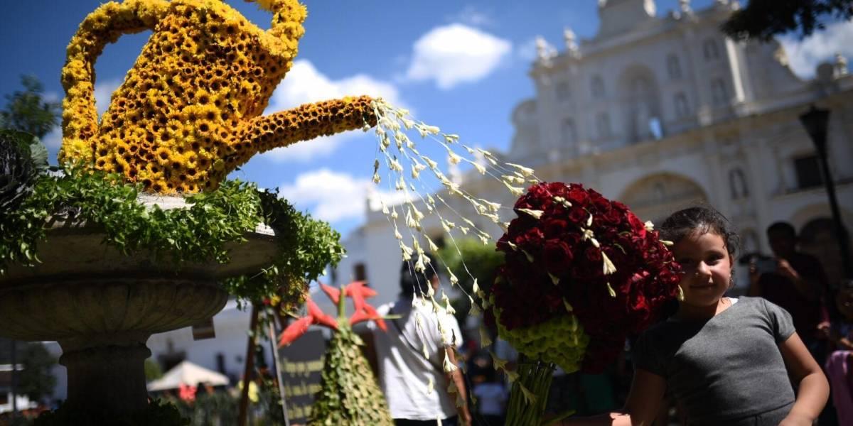 La Antigua Guatemala se adorna con el Festival de las Flores