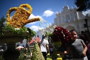 Festival de las Flores en la Antigua Guatemala