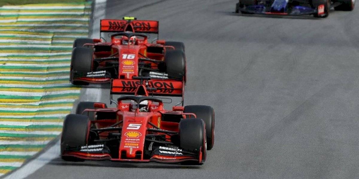 Ferrari analizará choque entre Vettel y Leclerc para tomar decisiones