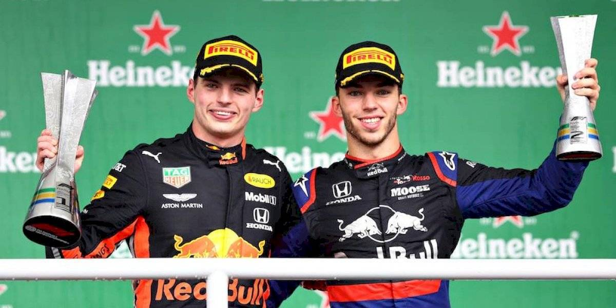 Verstappen gana el GP de Brasil; Gasly sube al podio por primera vez