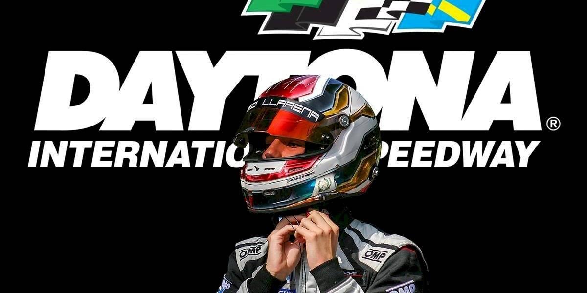 VIDEO. El guatemalteco Mateo Llarena destaca en Daytona en Estados Unidos