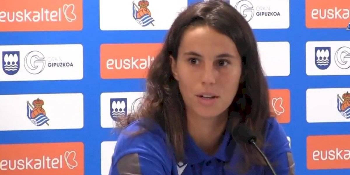 Jugadora de la Real Sociedad se presentó a jugar pese a la huelga de La Liga femenil