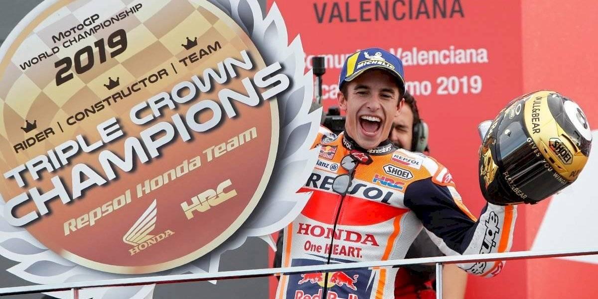 Marc Márquez cierra el año de MotoGP ganando en Valencia