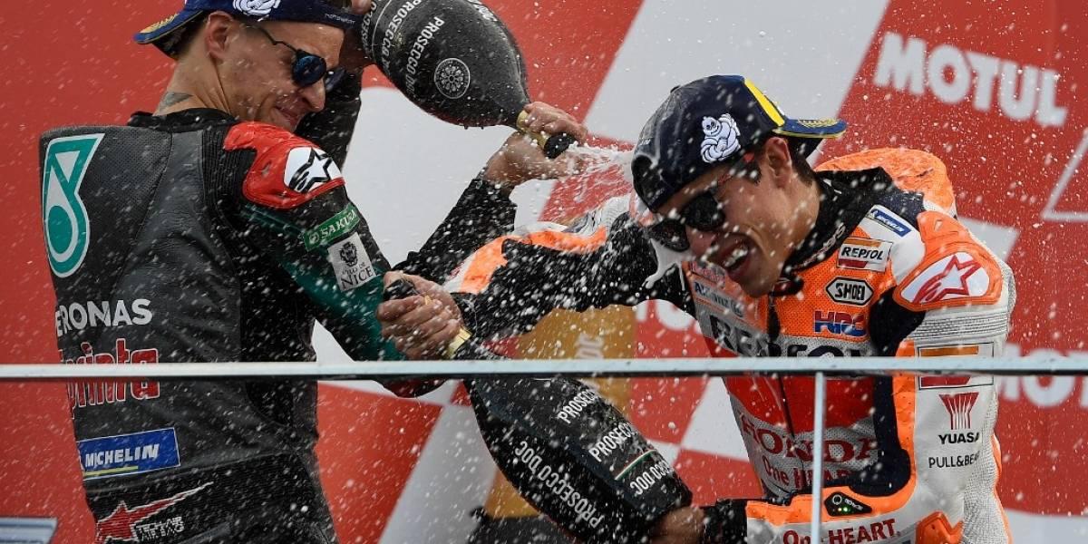 FOTOS. Marc Márquez conquista Valencia y finaliza con 420 puntos en el Mundial