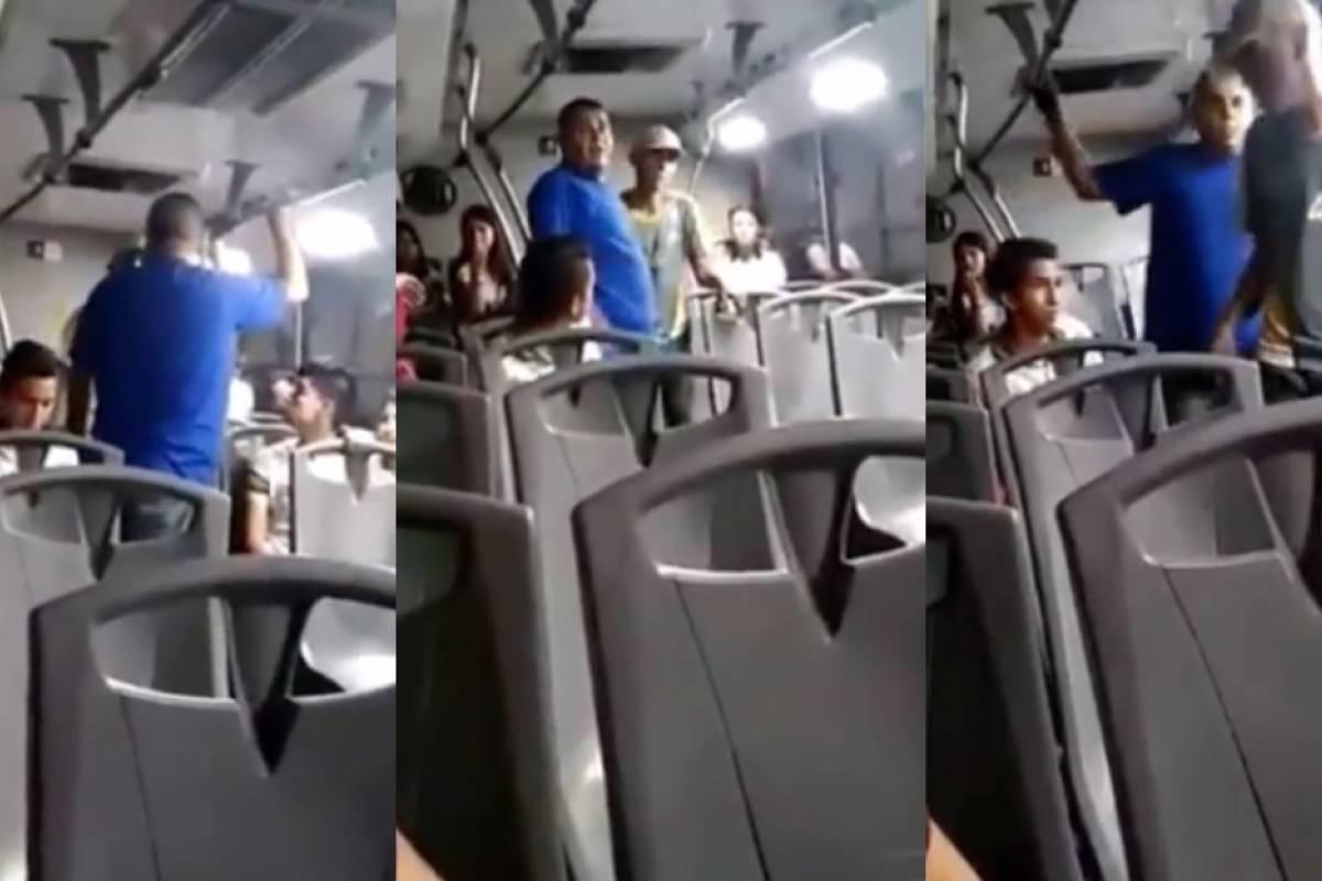 Enfrentan a acosador en Hermosillo y escapa por la ventana del camión - Publimetro México