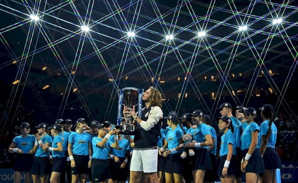 Stefanos Tsitsipas gana Masters Londres 2019