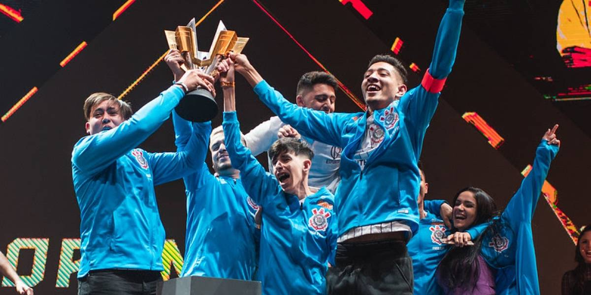 Corinthians é campeão da Free Fire World Series