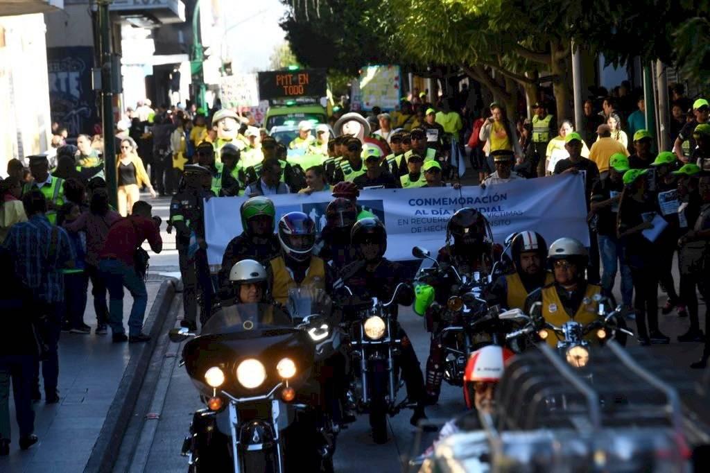 Con estas acciones también se busca sensibilizar a la población sobre la responsabilidad que se tiene al conducir. Omar Solís