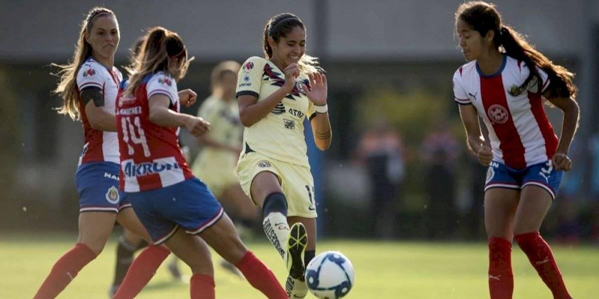 América elimina a Chivas y está en semifinales de la Liga MX Femenil