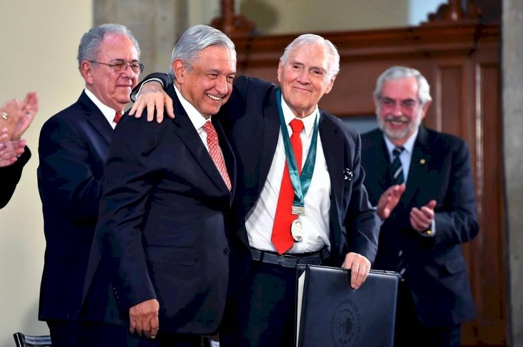 Premios Nacionales de Ingeniería y Arquitectura en el Salón Tesorería de Palacio Nacional