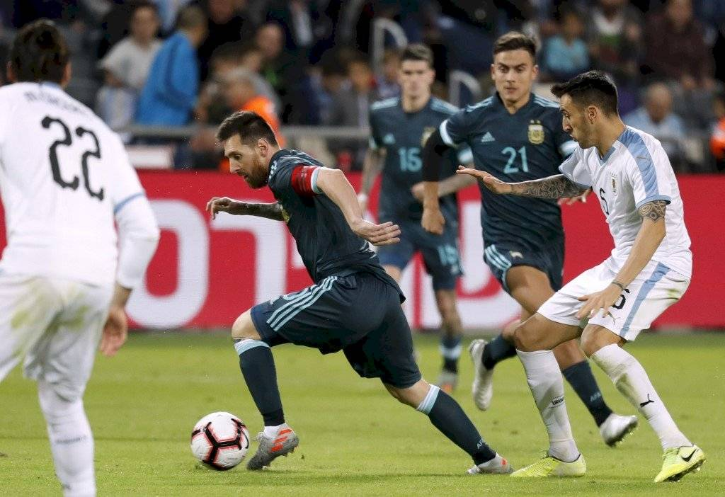 Argentina vs Uruguay, Fecha FIFA