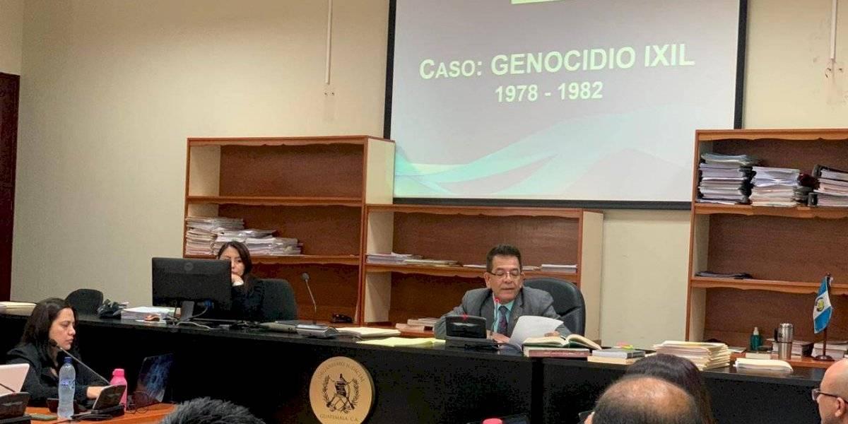 MP pide ligar a proceso a militares retirados señalados en el caso por genocidio