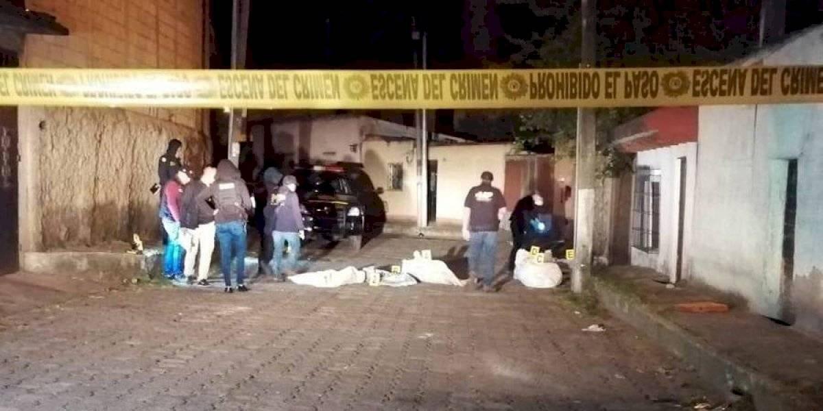 Cadáveres hallados en zona 7 tendrían un año de fallecimiento