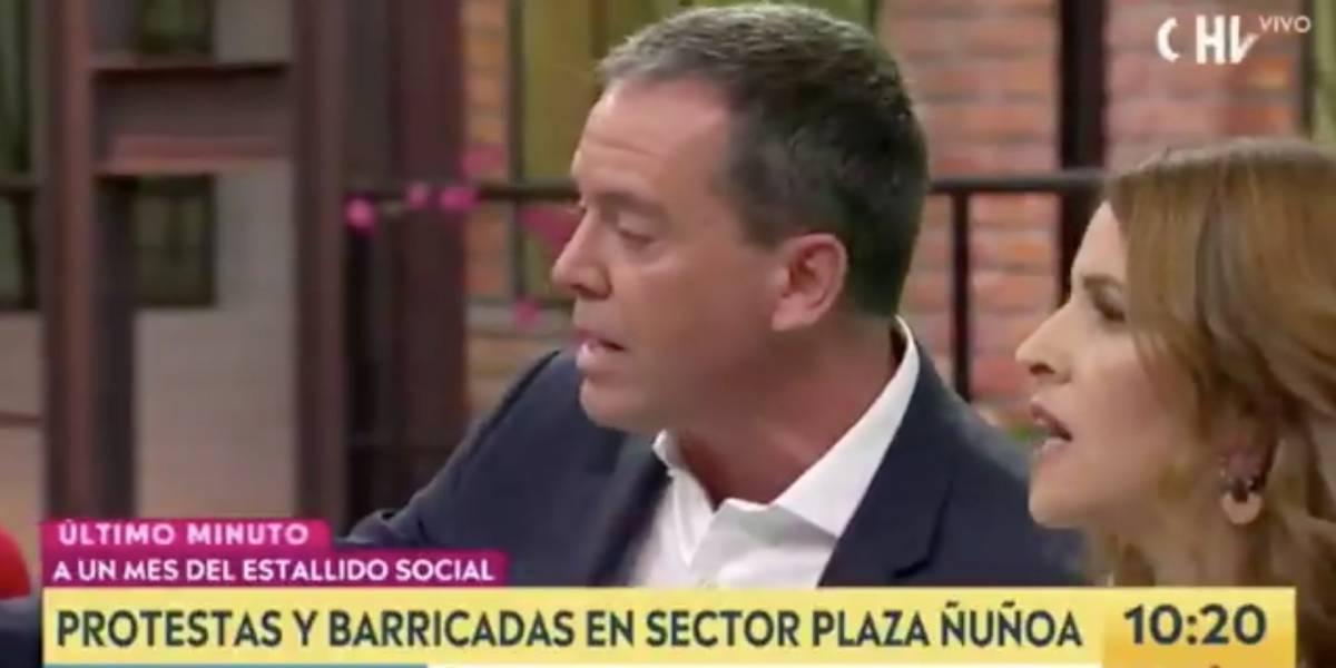 """""""Antes los pisco sour eran gratis en el Congreso"""": Monserrat Álvarez provocó el enojo de Felipe Harboe y una tensa pelea en vivo"""