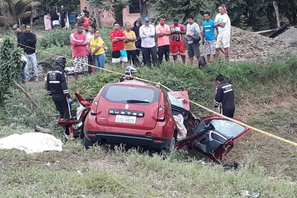 3 fallecidos en accidente en la vía Guayaquil – Babahoyo - Metro Ecuador