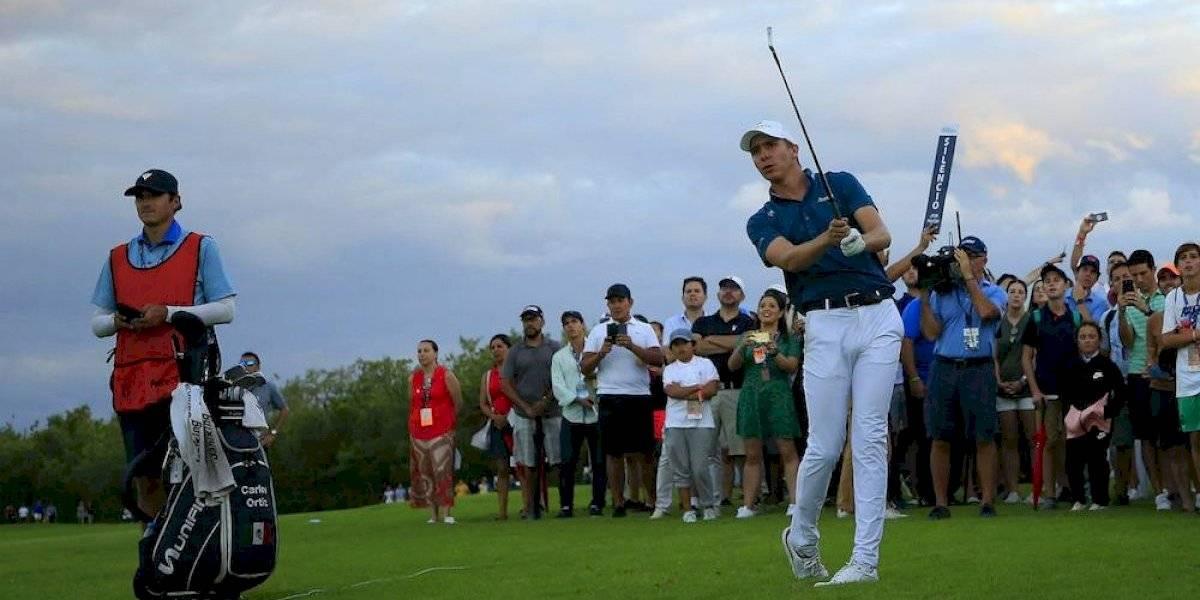 Carlos Ortiz obtiene histórico subcampeonato en Mayakoba Golf Classic