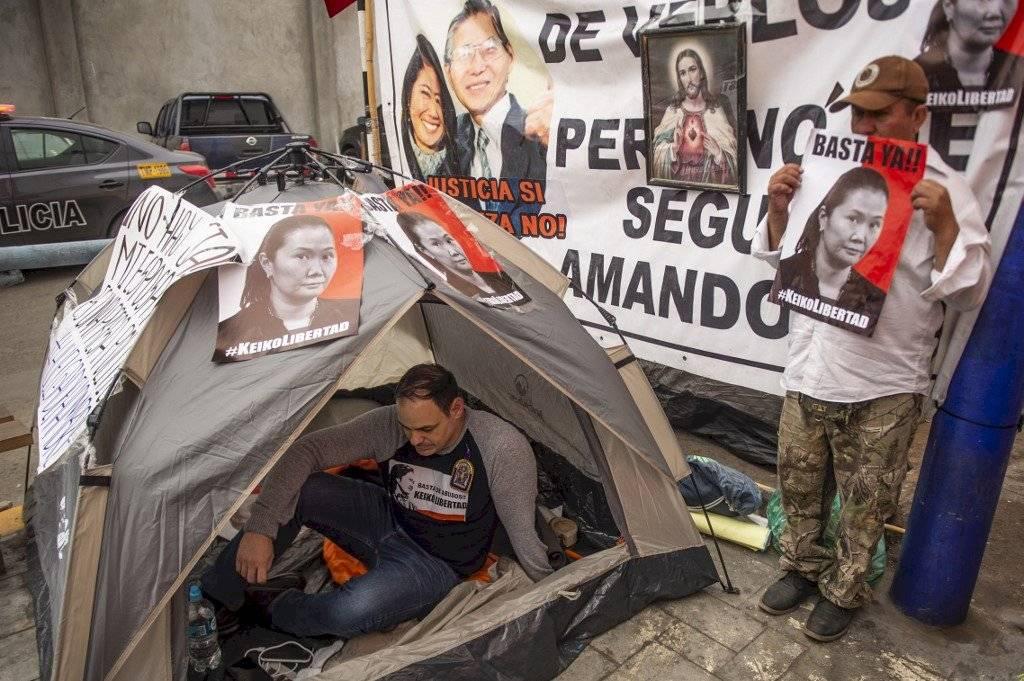 Esposo de Keiko Fujimori en huelga de hambre