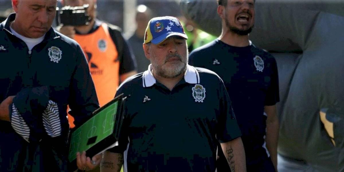 ¿Fin de ciclo? Maradona estaría viviendo sus últimos días como DT de Gimnasia y Esgrima de La Plata