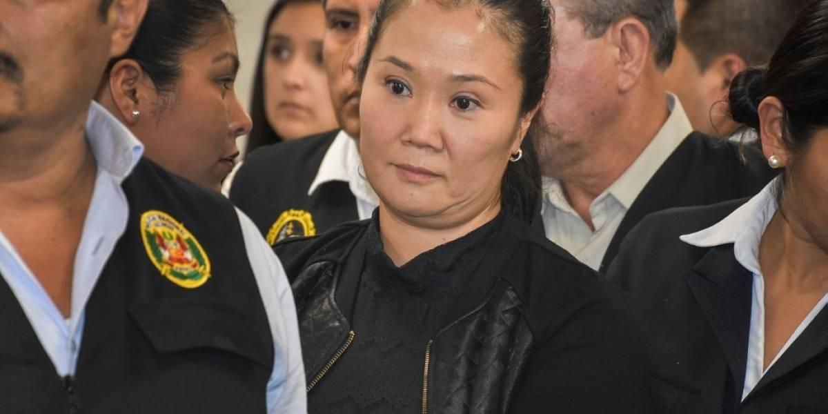 """Keiko Fujimori denuncia """"injusto"""" encarcelamiento en Perú"""