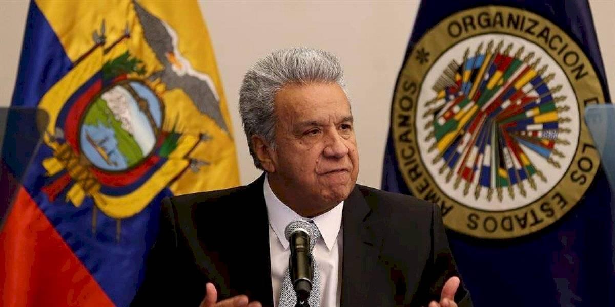 Lenín Moreno renuncia a su pensión vitalicia como exvicepresidente