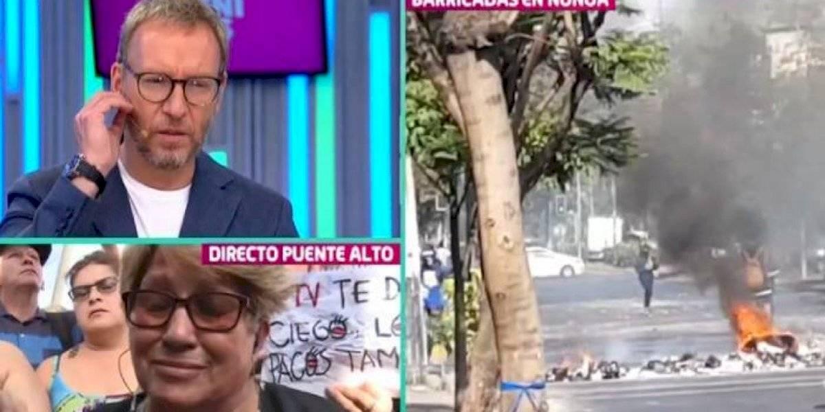 Martín Cárcamo emplaza a Sebastián Piñera tras conmovedor testimonio de adulta mayor