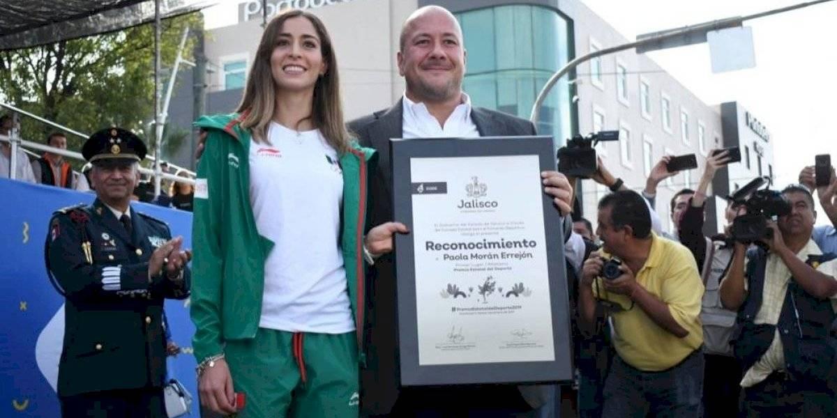 Entrega gobernador de Jalisco el Premio Estatal del Deporte
